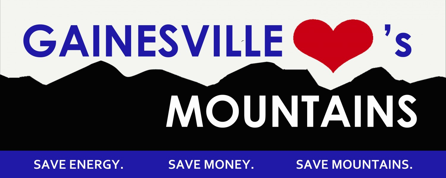 Gainesville Loves Mountains