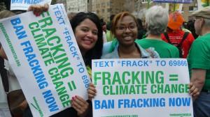 No fracking!