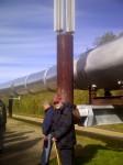 The monstrous Trans-Alaska pipeline; built on melting permafrost!