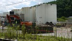July 16: Freedom Industries tank farm demolition underway.