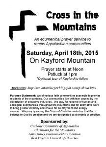 Cross in Mtns flyer Picture