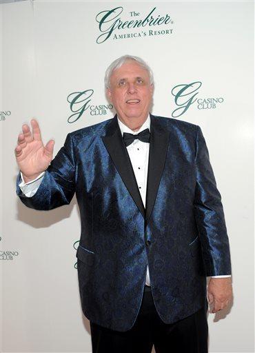 Billionaire and Greenbrier  Resort owner Jim Justice.