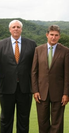 Jim Justice with WV Senator Joe Manchin