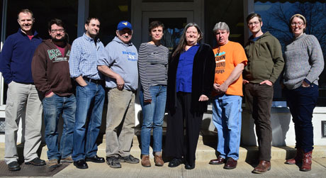The WV Mine Wars Museum's board of directors.  We recognize many of those faces!
