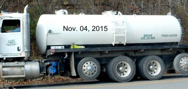 Dual labels on these trucks is disconcerting, to say the least. Photo taken on Nov. 4 by Bill Hughes.