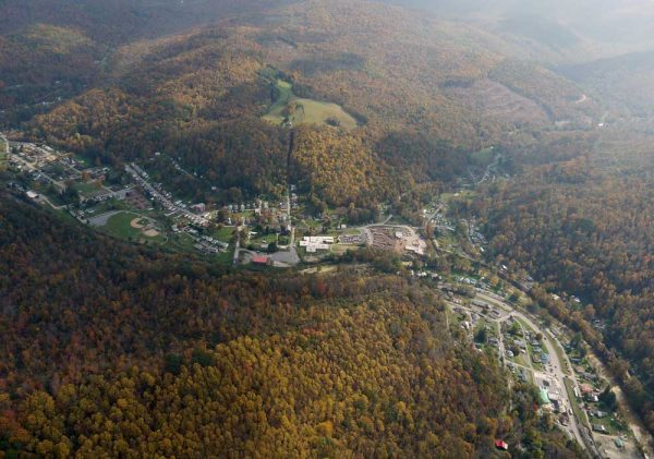 Richwood, WV. All photos on the this page by Vivian Stockman. Thanks to SouthWings.org for the flyover.