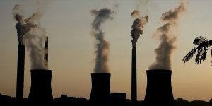 emissions from coal-fired power plant