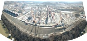 Beaver PA cracker plant under constructions
