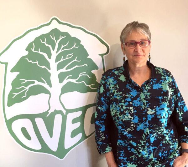 Viv with the OVEC logo
