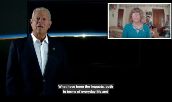 Randi and Al Gore screen shot