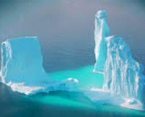 NOAA arctic ice image
