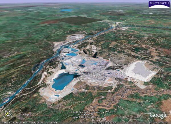 aerial tar sands image